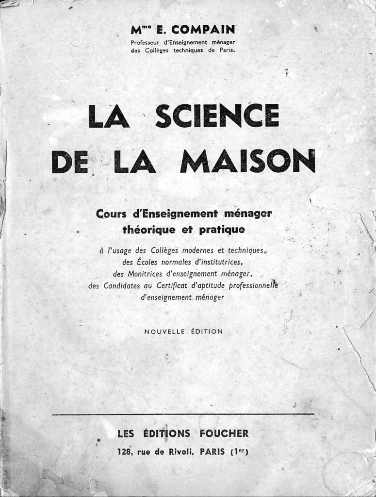 Livre La science de la maison