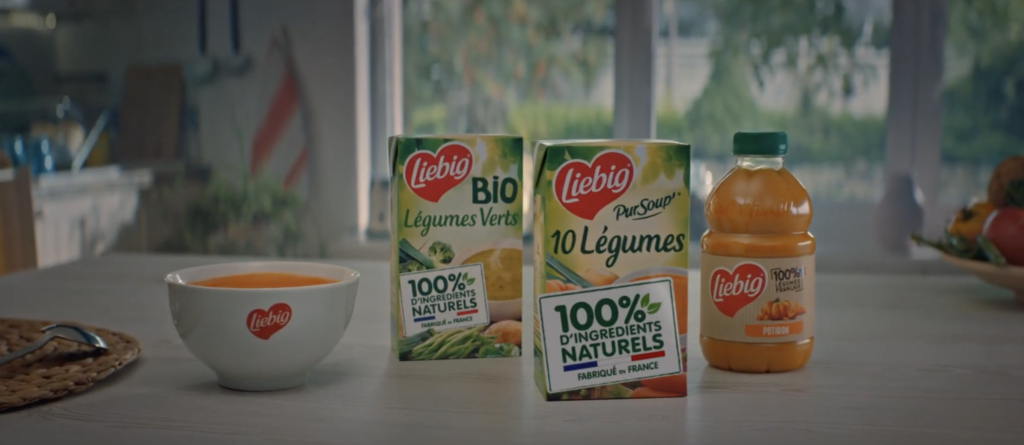 Soupe Liebig publicité